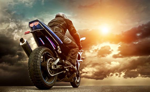 Ombros do Motociclista